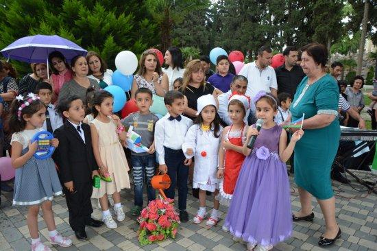 1 iyun - Uşaqların Beynəlxalq Müdafiəsi Günü  münasibəti ilə tədbir keçirildi